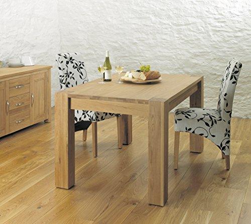 Baumhaus Aston Oak Dining Table 4-6 Seater