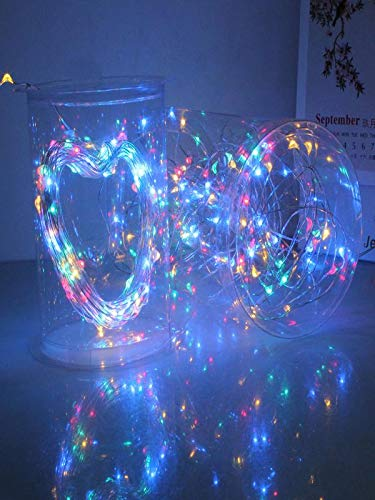 Led String Garlands Led String Rgb Colorful Decorative Lights Aa Battery Fairy Light Illumination Shine For Xmas Holiday Lights & Lighting