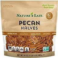 Nature's Eats Pecan Halves, 24 Ounce