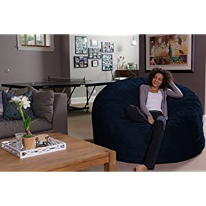 Sofa Sack-Bean BagsGiant Bean Bag, 6', Navy