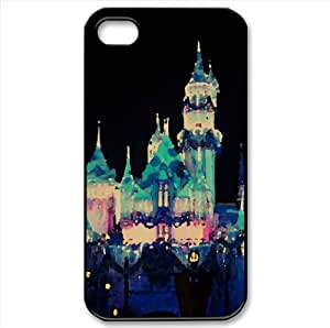 Disney Castle Watercolor style Cover iPhone 4 and 4S Case
