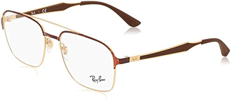 c8d82cec4f Amazon.com  Ray-Ban Unisex RX6404 Eyeglasses Black Matte Balck 54mm   Clothing