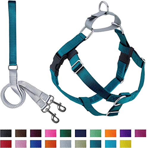 2 Hounds Design Freedom No-Pull Dog Harness and Leash