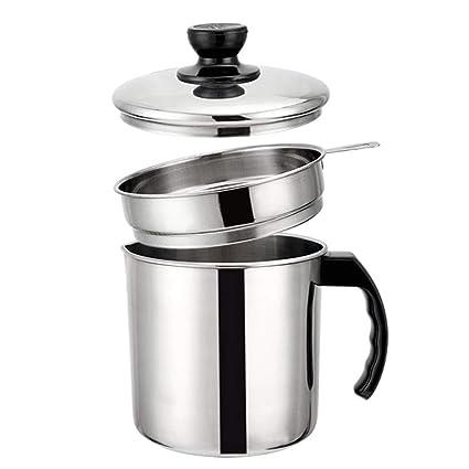 Haosens 1200ml Filtro Aceite Cocina Acero Inoxidable ...