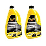 Meguiar's Ultimate Wash & Wax Auto & Car Care Cleaning Kit Solution, 48 Ounces (2 Pack)