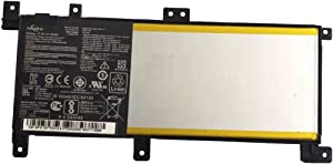 Dentsing Compatible Laptop Battery with Asus C21N1509 (7.6V 38Wh/5000mAh) A556U K556U X556U X556UA X556UJ X556UV 1A 1B 1C 3F 3G XO015T XO076T F556U FL5900U Series Notebook C21PQ9H 0B200-01750000