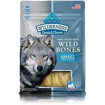 BLUE Wilderness Wild Bones Grain Free Dental Chews 10 Oz Small For Dogs