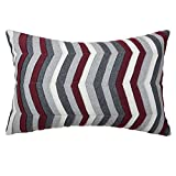 Wave PillowslipsMaterial: WoolStyle:HandmadeSize:12 x 18 Inch / 30 x 45 CMColor: As picWash: Machine Wash Cold Separately, Gently Cycle Only, No Bleach, Tumble Dry LowUsage: Home, Bedroom, Drawing Room, Living Room, Family Room, Play Room, St...