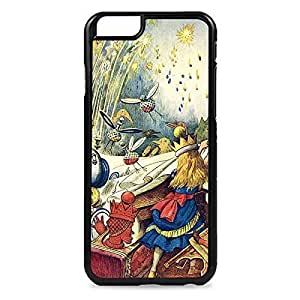 Alice in Wonderland Pulling the Tablecloth Snap-on Hard Back Case Cover For SamSung Galaxy S4 Mini