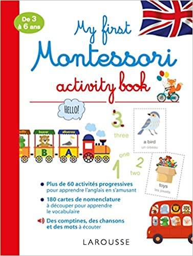 My First Montessori Activity Book 9782035937995 Amazon Com
