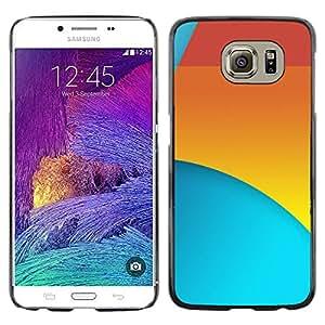 Stuss Case / Funda Carcasa protectora - Rojo Amarillo Azul - Samsung Galaxy S6