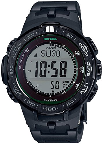 CASIO watches PROTREK Triple Sensor Ver.3 equipped with the world six stations corresponding Solar radio PRW-3100FC-1JF Men's