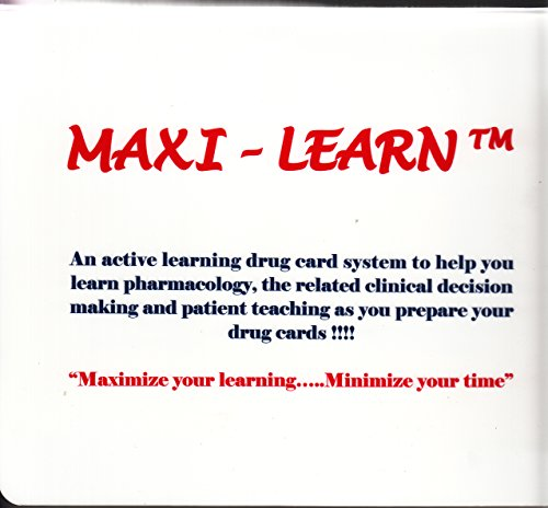 Maxi-learn: an Active Learning Drug Card System for Pharmacology