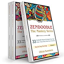 Zendoodle Box Set: 99 Zendoodle Patterns to Inspire Your Inner Artist--Even if You Think You're Not One! (Zendoodle Mastery Series, 3 Books in 1)