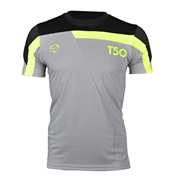 1f1fc8f5c West Biking Mens Breathable Cycling Jersey Short Sleeve Cycle Racing Biking  Running Tops (Gray-