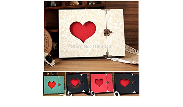 toonol hecho a mano DIY álbum de fotos de boda Vintage álbumes de fotos de bebé de fotos fotografia Scrapbooking pegatinas de papel porta retrato 31 ...