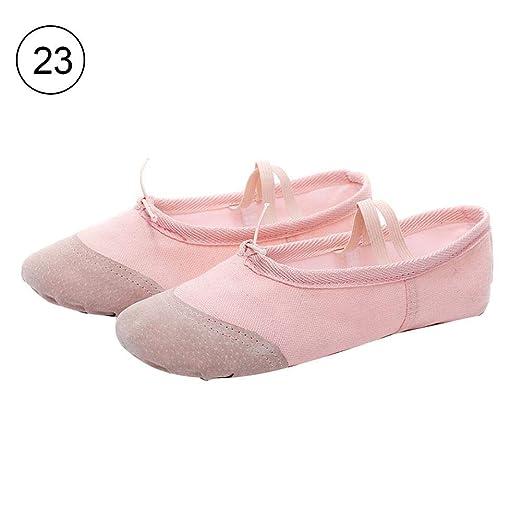 Motto.HZapatillas de Ballet Lona para niñas Zapatillas de ...