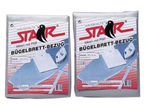 45/cm x 45/cm en Aluminium 1621E Tecstar Star 8012/Housse pour Table /à Repasser 127/x 45