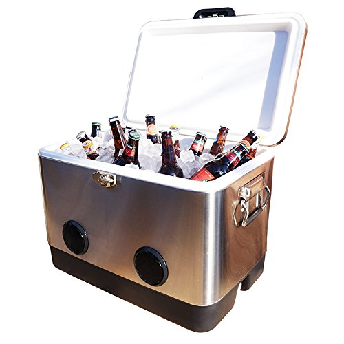 beach cooler with speakers - 7