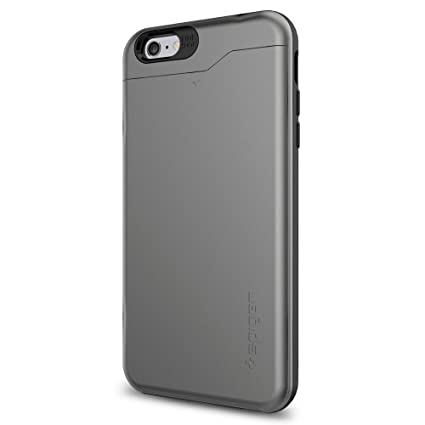 sneakers for cheap 66542 28265 Spigen Slim Armor CS iPhone 6S Plus Case / iPhone 6 Plus Case with Slim  Wallet Design and Card Slot Holder Case for Apple iPhone 6S Plus / iPhone 6  ...