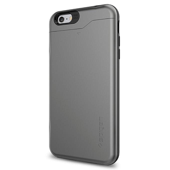 new concept 1e6cd 751f3 Amazon.com: Spigen Slim Armor CS iPhone 6 Plus Case with Slim Dual ...