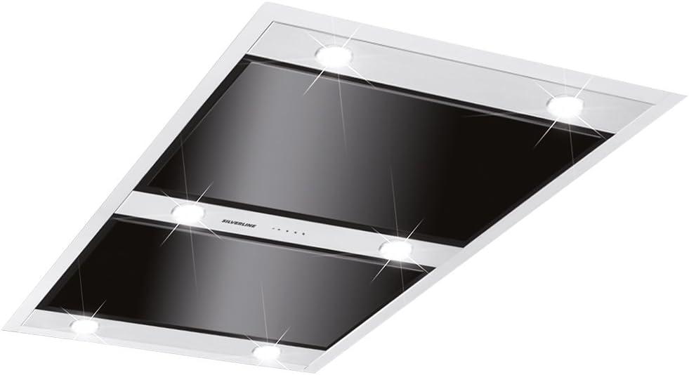 Silverline vgd 104.1 S Vega techo Campana/Campana/Campana isla/100 cm/C: Amazon.es: Grandes electrodomésticos