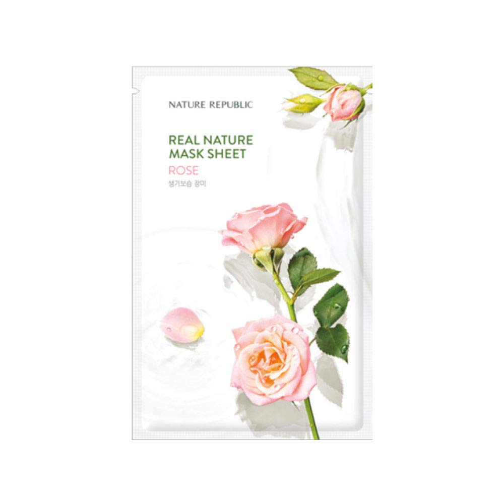 Nature Republic Real Nature Mask Sheet_10Sheet (#Rose)