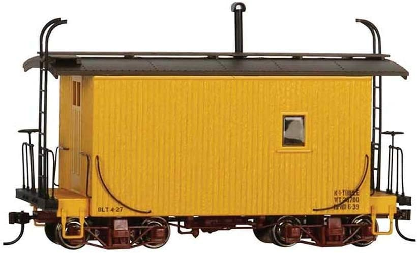 On30 Logging Caboose Yellow//Data Only