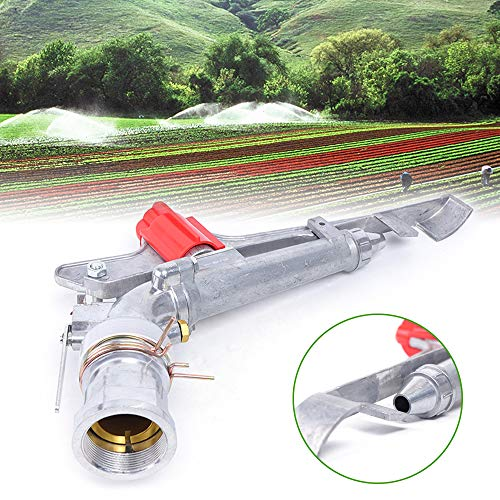 "LiFuJunDong 2"" Agriculture Irrigation Spray Gun Sprinkler Large-Area 360° Adjustable Watering"