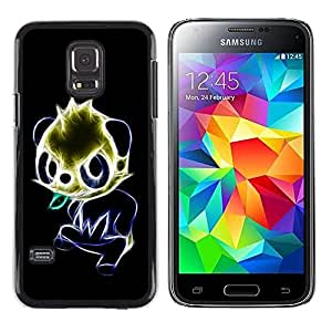 Be Good Phone Accessory // Dura Cáscara cubierta Protectora Caso Carcasa Funda de Protección para Samsung Galaxy S5 Mini, SM-G800, NOT S5 REGULAR! // Glowing Panda