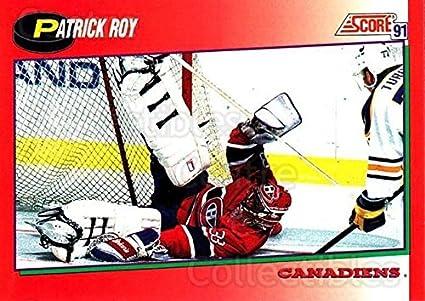 1cda8dbe540 (CI) Patrick Roy Hockey Card 1991-92 Score Canadian English 75 Patrick Roy