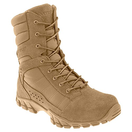 Bates Mens Cobra Hot Weather Coyote Tactical Army Boot Coyote Brown