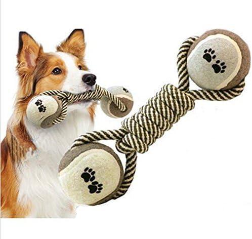 Juguete de cuerda y pelota Yosoo para perro. Herramienta para uso ...