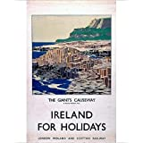 Photographic Print of Ireland for Holidays - The Giant s Causeway , LMS poster, 1923-1947 by Media Storehouse