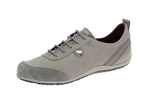 Sneaker Vega Damenschuhe Grigio D3209a Donna Grau Geox p4IdWqq