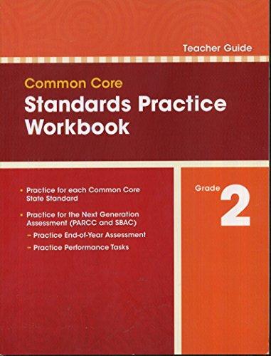 Common Core Standards Practice Workbook Grade 2 (Teacher Guide)