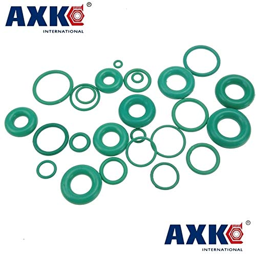 Gimax 5mm OD16-100mm Green Viton FKM Fluorine Rubber O Ring O-Ring Oil Sealing Gasket Size: 36 x 5mm 2pcs, Thickness: 5mm
