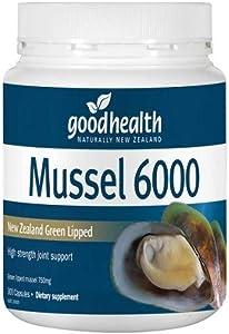 GoodHealth Mussel 6000 300 Capsules