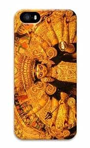 iPhone 5 3D carcasa rígida Durga pooja