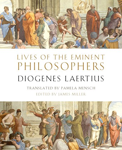 Book Lives of the Eminent Philosophers: by Diogenes Laertius<br />Z.I.P