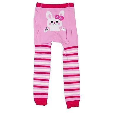 2766bab804a17 Gyratedream Leggings Coton Enfants Automne Hiver Dessin Animé Tricot  Collants Taille Haute Long Pantalon pour 1