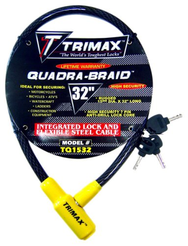 Trimax TQ1532 Trimaflex Integrated Keyed Cable Lock (32