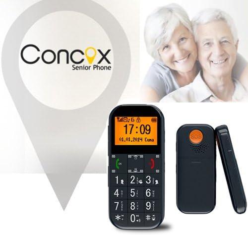 TELEFONO MOVIL Libre para Personas Mayores Y Ancianos con GPS Y ...