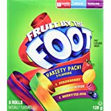 Betty Crocker Gluten Free Fruit by The Foot Variety Pack, 6 Count, 128 Gram