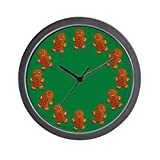 Cheap CafePress – Gingerbread Man Wall Clock – Unique Decorative 10″ Wall Clock