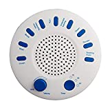 Senchanting White Noise Machine, 9 Natural Relaxation Sounds Tracks with Timer Option White Sound Machine Therapy Sound Spa Solution