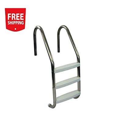 Enjoyable Amazon Com Usonline 3 Step Polished Stainless Steel Creativecarmelina Interior Chair Design Creativecarmelinacom