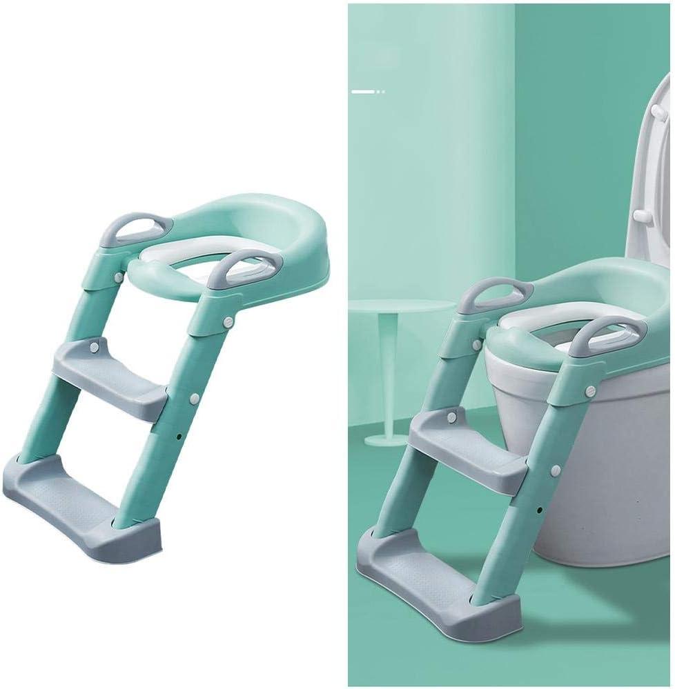T/öpfchen-Toilettensitz mit Tritthocker Leiter f/ür Kinder M/ädchen Jungen Baby Kleinkinder Toilettensitz Stuhl Stuhl Step-assistierte Toilette
