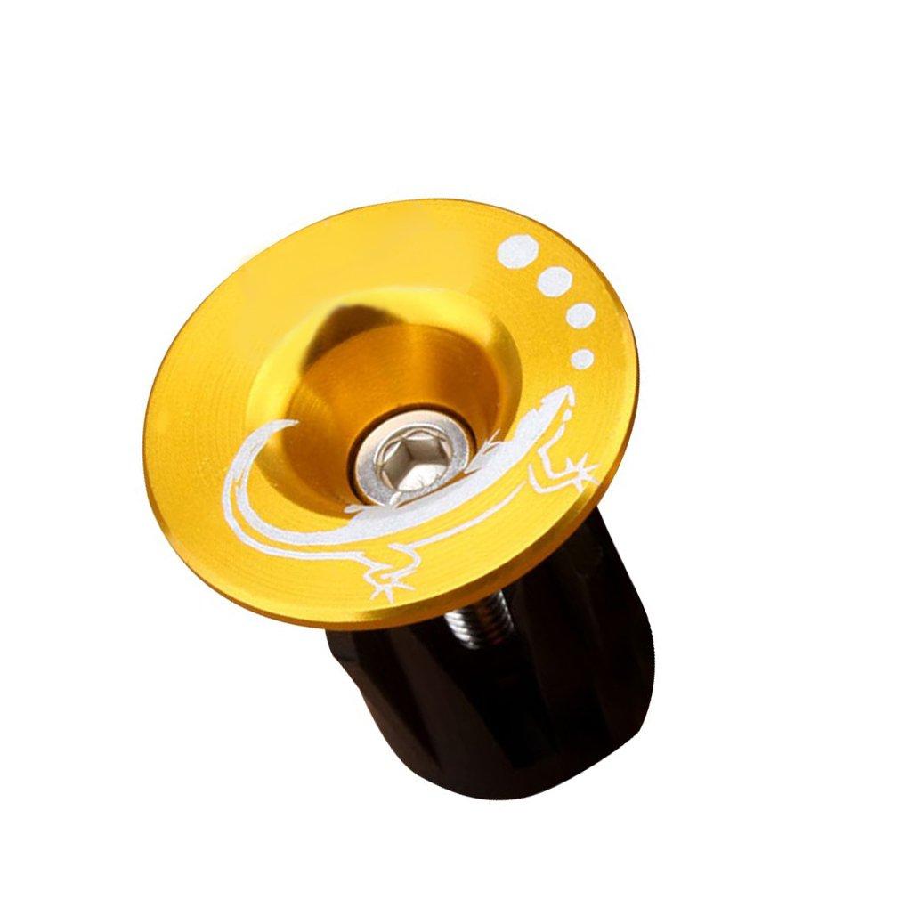 Republe 1 Paar Fahrrad-Lenker End Plugs Aluminiumlegierung MTB Stra/ßen-Fahrrad-Fahrrad-Lenkergriffe Caps