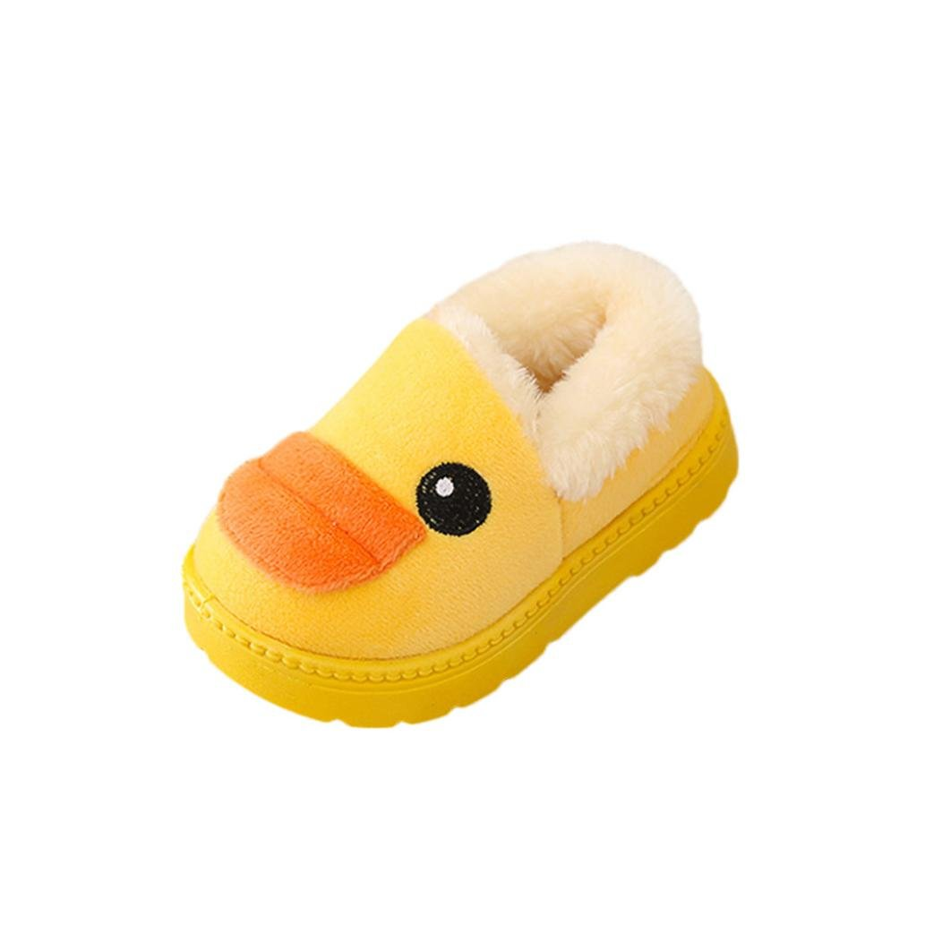 33 Sacow Lovely Unisex-Baby Newborn Toddler Baby Fashion Sneakers Cartoon Duck Child Casual Winter Warm Boots Shoes